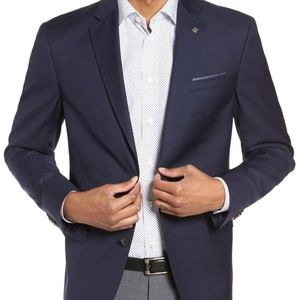Ted Baker Navy Blazer Jacket 38R